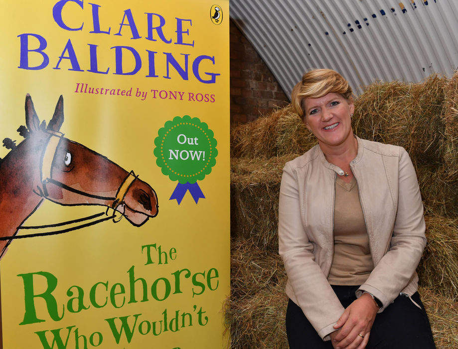 An evening with Clare Balding